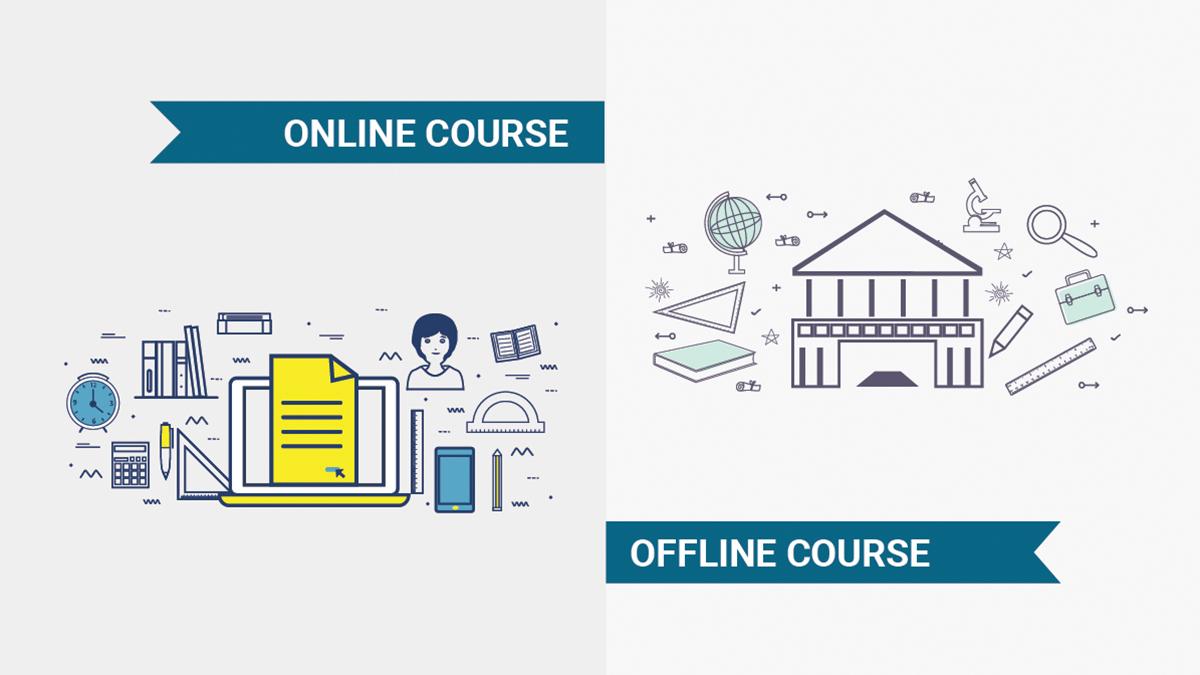 online vs classroom coaching